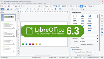 LibreOffice 6.3 update with many new features